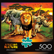 Amazing Nature African Beasts 500 Piece Jigsaw Puzzle Box