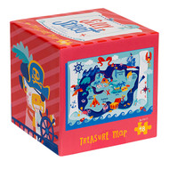Silly Street Treasure Map 48 Piece Children's Jigsaw Puzzle Box Front