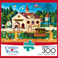 Charles Wysocki The Bird House 300 Large Piece Jigsaw Puzzle Box