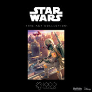Star Wars™ Fine Art Collection Boba Fett 1000 Piece Jigsaw Puzzle Box