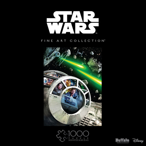 Star Wars™ Fine Art Collection Never Tell Me The Odds 1000 Piece Jigsaw Puzzle Box