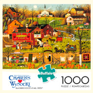 Charles Wysocki Blackbirds Roost at Mill Creek 1000 Piece Jigsaw Puzzle Box