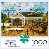 Charles Wysocki Dahlia Makes a Dory Deal 1000 Piece Jigsaw Puzzle Box