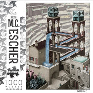 M.C. Escher Waterfall 1000 Piece Jigsaw Puzzle Box