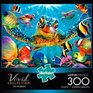 Vivid Tiny Bubbles 300 Large Piece Jigsaw Puzzle Box