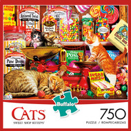 Cats Sweet Shop Kittens 750 Piece Jigsaw Puzzle Box