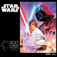 Star Wars™ Luke Skywalker and Darth Vader 300 Large Piece Jigsaw Puzzle Box