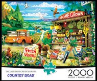 Country Road 2000 Piece Jigsaw Puzzle Box