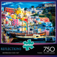 Reflections Mediterranean Color Italy 750 Piece Jigsaw Puzzle Box