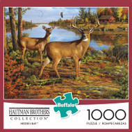 Hautman Brothers Hidden Bay 1000 Piece Jigsaw Puzzle Box