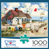 Charles Wysocki Root Beer Break at the Butterfields 1000 Piece Jigsaw Puzzle Box