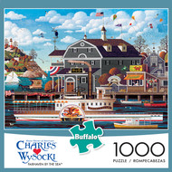 Charles Wysocki Fairhaven by the Sea 1000 Piece Jigsaw Puzzle Box