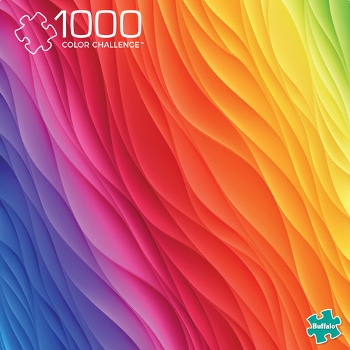Vivid Color Challenge 1000 Piece Jigsaw Puzzle Box