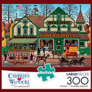 Charles Wysocki The Haberdashery 300 Large Piece Jigsaw Puzzle Box