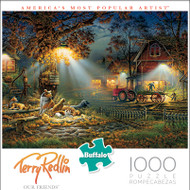 Terry Redlin Our Friends 1000 Piece Jigsaw Puzzle Box
