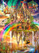 Vivid Rainbow City 1000 Piece Jigsaw Puzzle Art