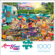 Aimee Stewart Collection: The Family Campsite 1000 Piece Jigsaw Puzzle