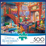 Days to Remember Quilt Shop 500 Piece Jigsaw Puzzle Box