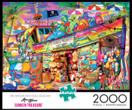 Aimee Stewart Sunken Treasure 2000 Piece Jigsaw Puzzle Box
