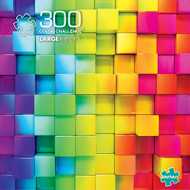Vivid Color Challenge 300 Piece Jigsaw Puzzle Box