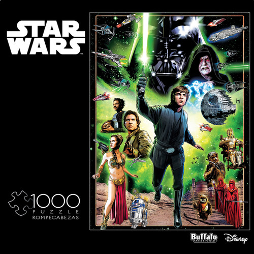 "Star Wars™: ""I Am A Jedi, Like My Father Before Me"" 1000 Piece Jigsaw Puzzle Box"