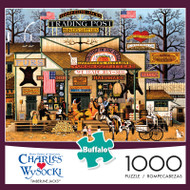 Charles Wysocki Timberline Jacks 1000 Piece Jigsaw Puzzle Box