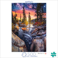 Earthpix Forest Magic Hour 500 Piece Jigsaw Puzzle Box