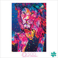 Art of Play Heart Of A Lion 500 Piece Jigsaw Puzzle Box
