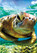 Earthpix Turtle Swimmer 500 Piece Jigsaw Puzzle Art