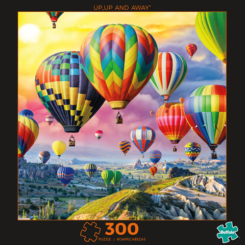 Photography Up, Up, and Away 300 Large Piece Jigsaw Puzzle Box