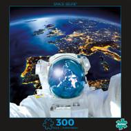 Photography Space Selfie 300 Large Piece Jigsaw Puzzle Box