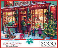 Christmas Toyshop 2000 Piece Jigsaw Puzzle Box
