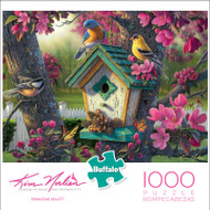 Kim Norlien Springtime Beauty 1000 Piece Jigsaw Puzzle Box