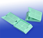 Biopsy Processing Cassettes - Green, 500 pcs/pack