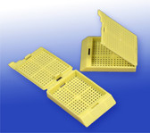 Biopsy Processing Cassettes - Yellow, 500 pcs/pack