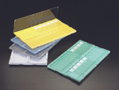 20-place Slide Folder, Green, plastic, each