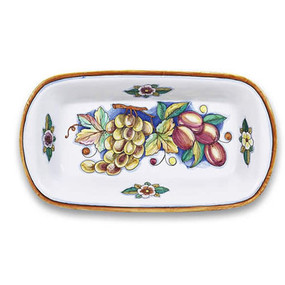 Bianco Fresco Oval Dish