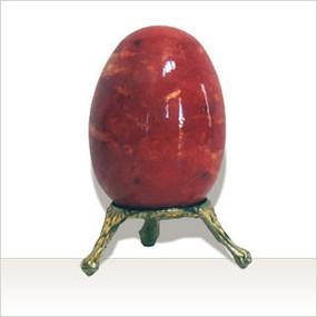 Italian Alabaster Egg Cortona