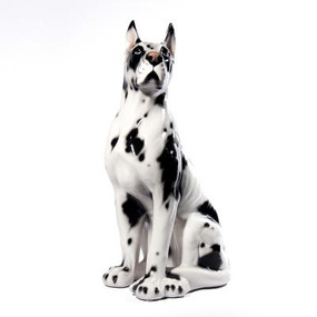 Italian Ceramic Dog - Great Dane