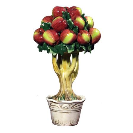 Italian Ceramic Apple Tree
