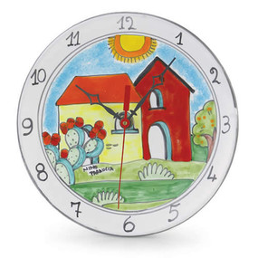 Wall Clock - Village