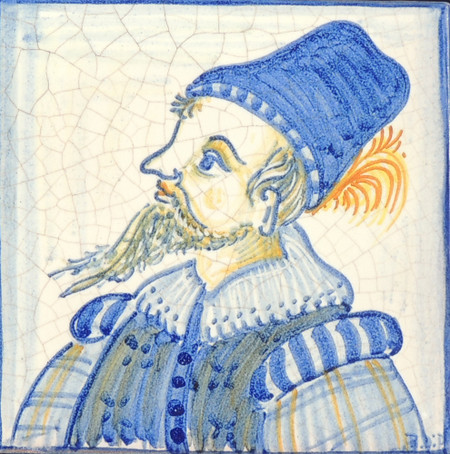 Man - Square - San Donato Tile