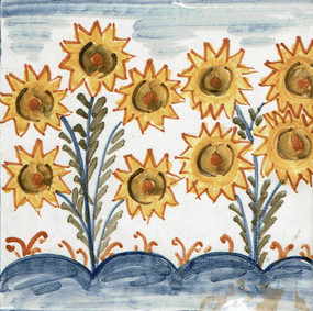 Flowers - Square - San Donato Tile
