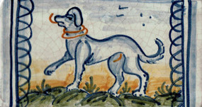 Dog - Rectangle - San Donato Tile