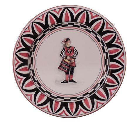 Civetta Drummer - Palio di Siena Dinnerware