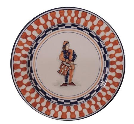 Leocorno Drummer - Palio di Siena Dinnerware