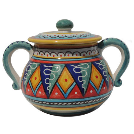 Sugar Bowl - Geometrico Red