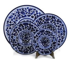 Round Platter - Arabesco Blue - Fratelli Mari
