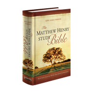 The Matthew Henry Bible King James Version (Hardcover)
