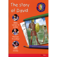 The Story of David: Bible Colour and Learn 9 by Various (Paperback)
